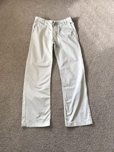100% Vero Fatface Da Uomo Designer Crema 100% Cotone Pantaloni Elite Di Qualità 30r L31 Essere Altamente Elogiati E Apprezzati Dal Pubblico Che Consuma