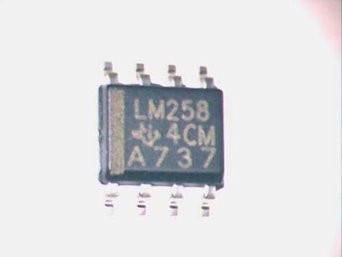 LM258 Double Ampli Operationnel SO8 # Lot de 2-5 et 10 pcs