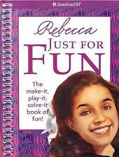 Rebecca Just for Fun by Jennifer Hirsch (2009, Trade Paperback)