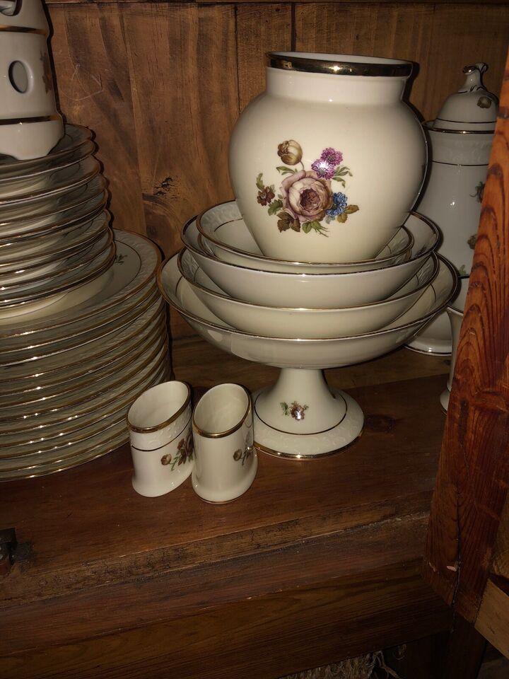 Porcelæn, Kaffe-spisestel, Rosenborg KPM