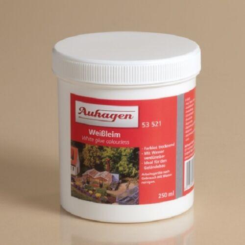 1 of 1 - AUHAGEN 53521 Tin White Glue Colorless, 0,25 Liter (1 Liter =