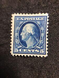 us-stamps-scott-504-MH-OG-Centered-Vibrant-May-Be-Thin