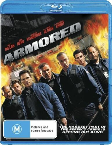 1 of 1 - *NEW & SEALED*  Armored (Blu-ray movie, 2010) Region B Australian release
