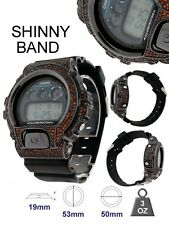 Men's New 3230 Authentic Real Casio G Shock+Custom Red Diamond Simulate Watch