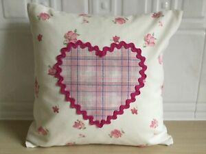 Laura-Ashley-mini-cream-amp-pink-floral-cushion-size-11-5x11-5