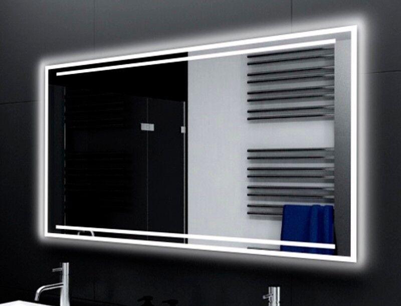 Badspiegel mit LED Beleuchtung Badezimmerspiegel Bad Spiegel Wandspiegel M121