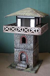 Roemer-Imperium-70020-Roemischer-Limes-Turm-WPI-zu-7cm-Fertigmodell-in-Composite