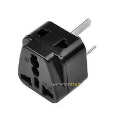 Splitter 2 Universal UK/US/EU Outlet to Australia New Zealand Wall Plug Adapter