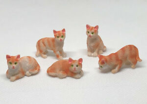 Dolls-House-Miniature-1-12th-Scale-Ginger-Cat