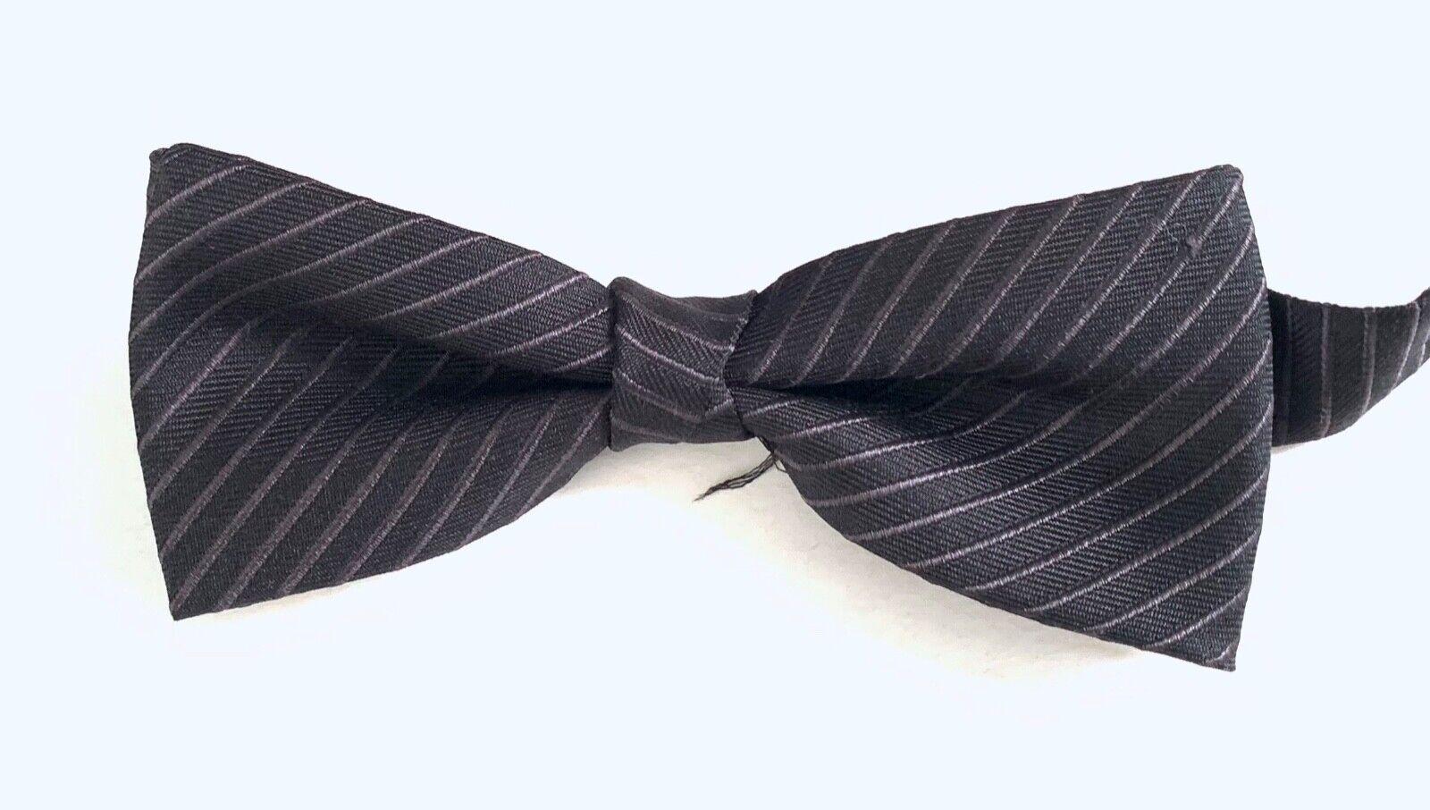 Liu Jo Papillon Flywedd Silk Bow Tie, Black, One Size