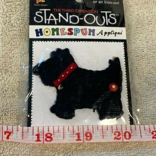 NEW 1 Pkg Stand-Outs Homespun Applique Sticker Iron On Flowers Animals Sports