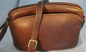 COACH-Purse-Anderson-Vintage-HandBag-Crossbody-Distressed-Brown-Vintage-Bag