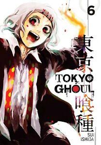 Tokyo Ghoul Volume 6 Manga GN Sui Ishida Kaneki Aogiri Tree Viz New Mint