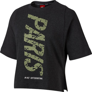 mujer Sports manga corta para Nike Nike Camiseta 886912748267 Sportswear de Fitness International qwnA0xAXzI