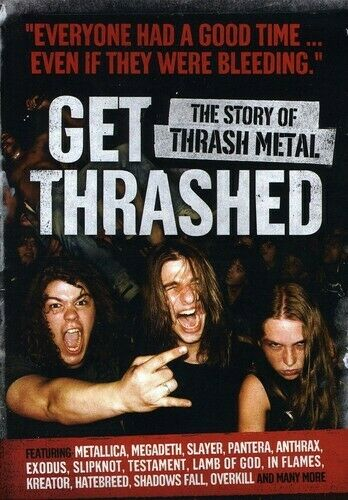 GET THRASHED NEW DVD