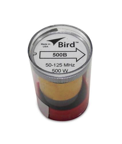 Bird 43 Wattmeter Element 500B  50-125 MHz 500 Watts New