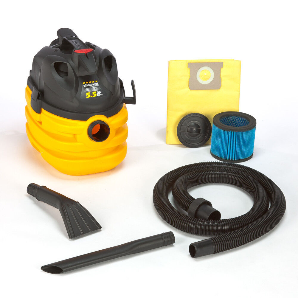 Shop-Vac 5 Gallon 5.5 Peak HP Right Stuff Wet Dry Vac 5872810 New