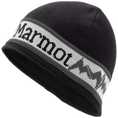 Marmot Spike Hat # 1586 001 Black Skully Beanie