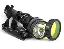 85W 8500 Lum HID Xenon 8700mAh SOS Torch Flashlight Spotlight Lamp Lantern Light