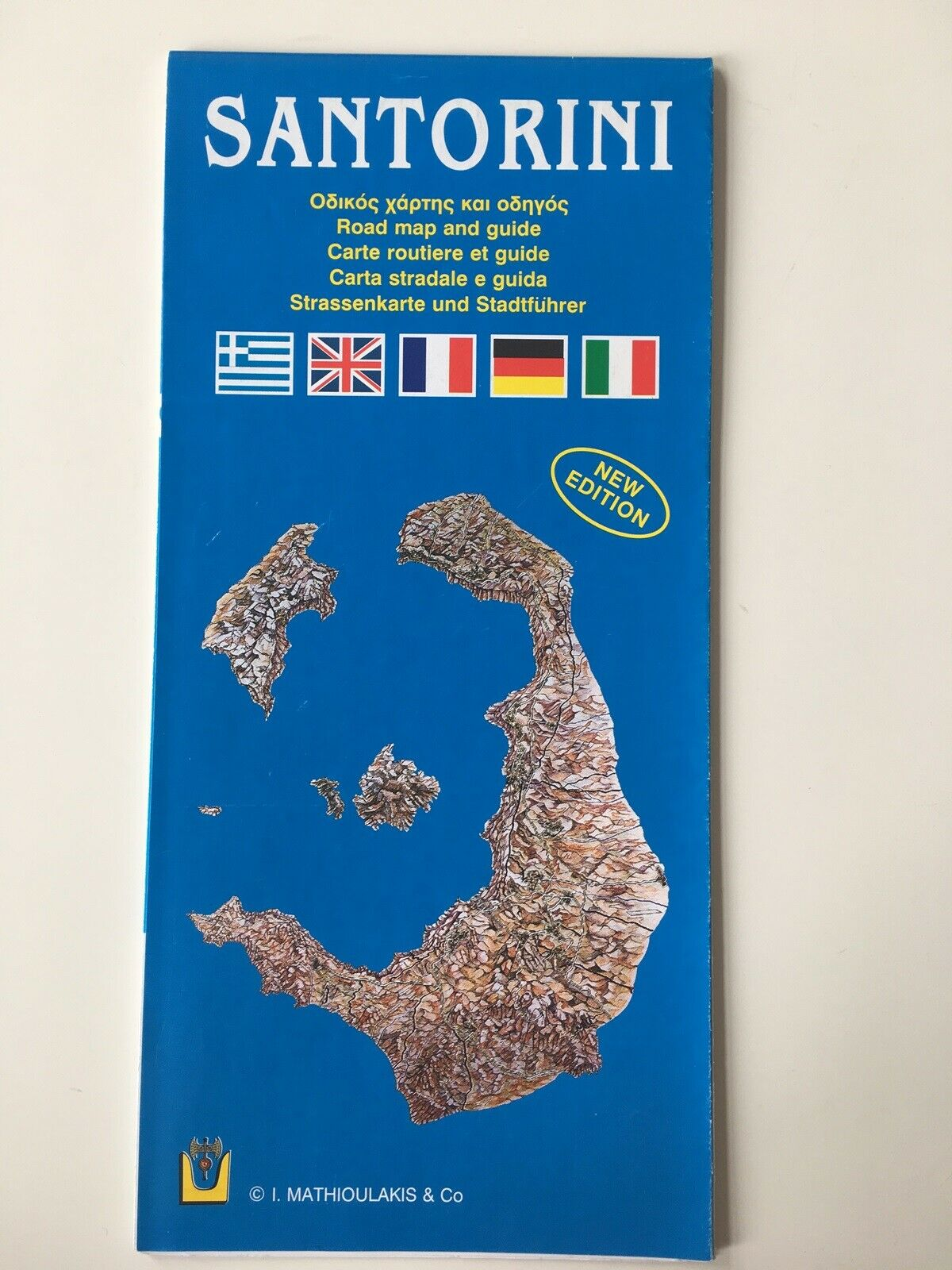 Kort Over Santorini Dba Dk Kob Og Salg Af Nyt Og Brugt
