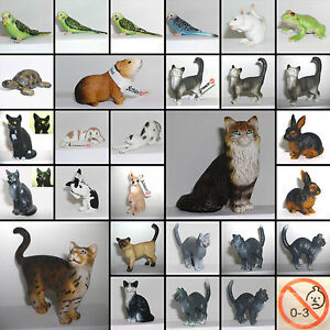 schleich schleichtiere tier figur haustiere auch kleine bauerhoftiere pets cats ebay. Black Bedroom Furniture Sets. Home Design Ideas