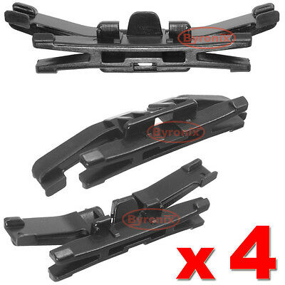 SUBARU FORESTER FRONT WINDSCREEN CLIPS SIDE TRIM MOULDING A PILLAR EXTERIOR X4