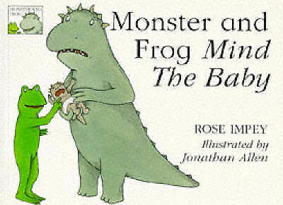 1 of 1 - Monster and Frog Mind the Baby (Monster & Frog), Impey, Rose, Very Good Book