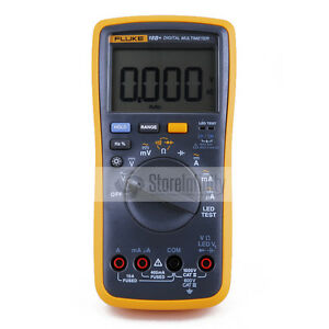 Latest-Fluke-18B-Plus-AC-DC-Voltage-Current-Digital-Multimeter-DMM-with-LED