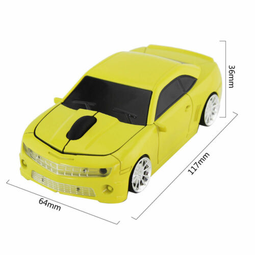 Chevrolet Camaro car 2.4Ghz Wireless USB mouse optical Game Computer PC Mac Mice