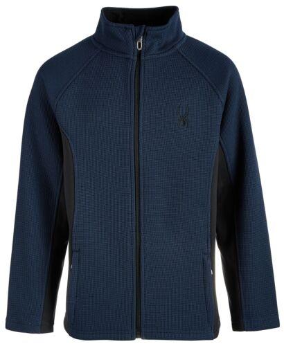 Spyder Boy/'s Constant Full Zip Stryke Jacket Sweater retails $90