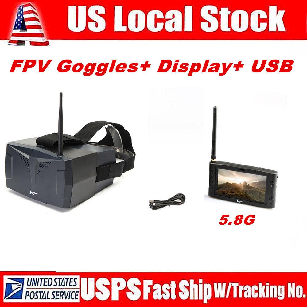 Hubsan H123D X4 Quadcopter Drone Spare Parts Video goggle HS001+HV002+ USB Cable