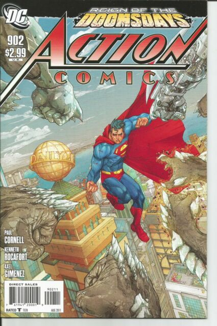 DC Comics ACTION COMICS #902 (Reign of Doomsday) 2011