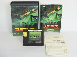 F-117-STEALTH-Operation-Night-Storm-Ref-1555-Mega-Drive-Sega-Japan-md
