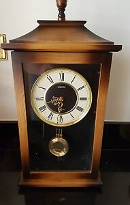 Seiko Antique Working Clock With Sound Chiming Wall Clock