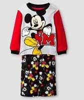 Mickey Mouse Boy's Fleece Pajamas Disney 2t 3t Or 5 T