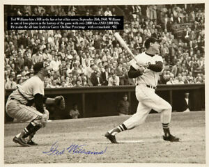 TED-WILLIAMS-8-x10-Last-At-Bat-HR-Autographed-Signed-Photo-HOF-Red-Sox-REPRINT
