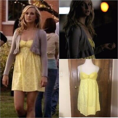 Yellow Sun Dress Sa Aso Caroline Forbes
