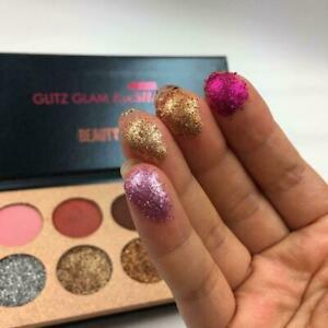 Diamant-Glitter-Lidschatten-Pailletten-Make-Up-Kosmetische-C1D4-1-PaletteNE-B1R3