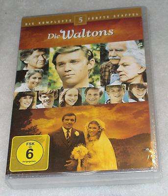 The Waltons Complete Season 5 Fifth - DVD Box Set NEW SEALED - Region 2