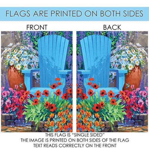 Happy Birthday Garden Flag Party Outdoor Flag Decor Fabric Double-sided
