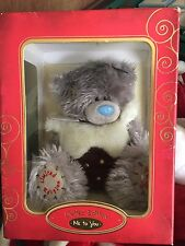 L@@K - BOXED XMAS ME TO YOU TATTY TEDDY BEAR LIMITED EDITION - CHRISTMAS PUDDING