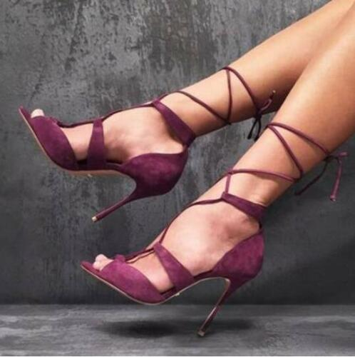 Sandalen Hakken Strappy Open Teen Schoenen Stiletto Dames European Cross Hoge Pumps F1JcKT3l