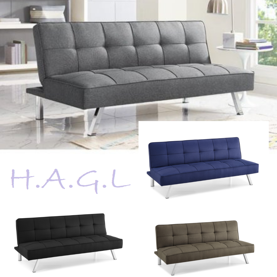 Futon Convertible Couch Sofa Bed Modern