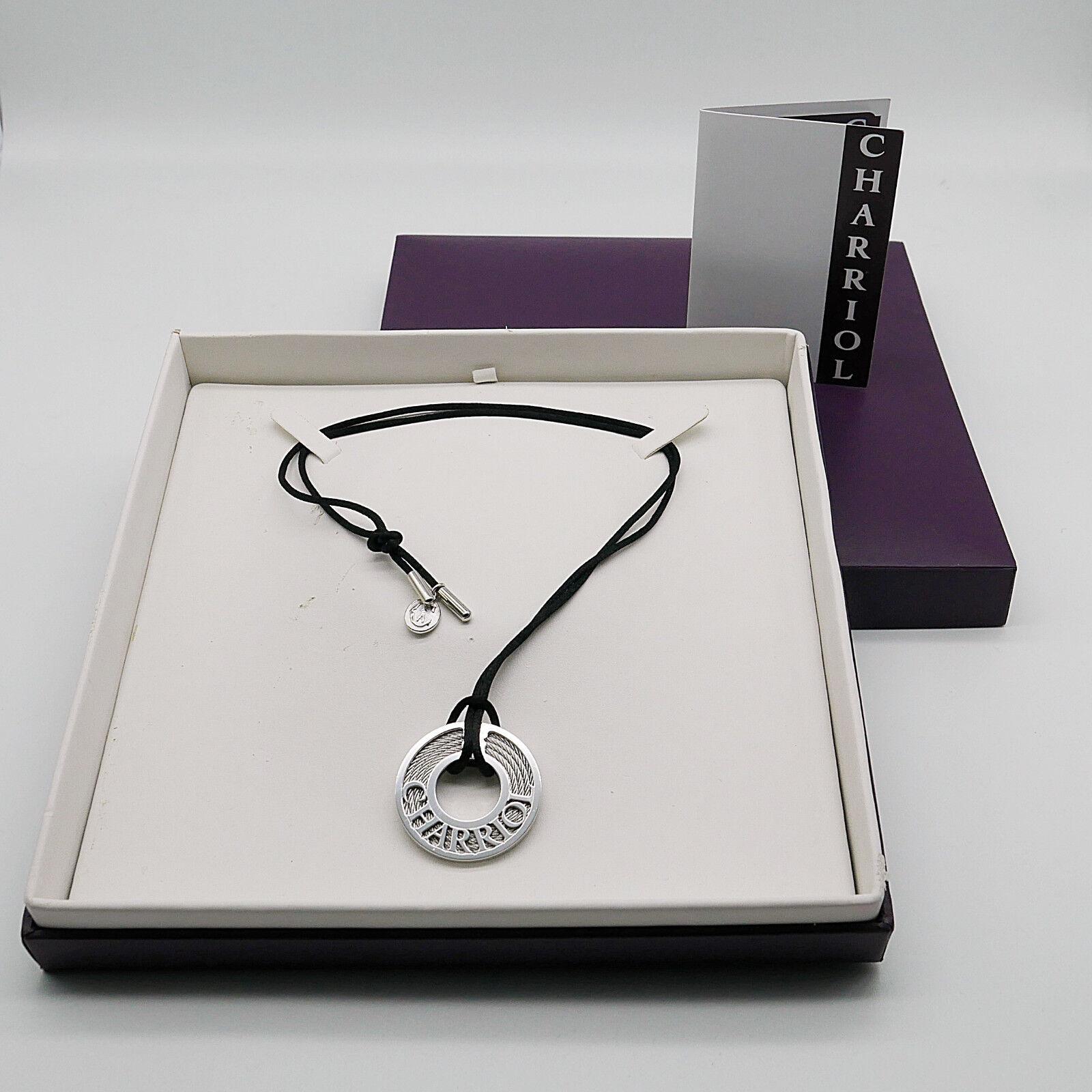 Charriol Collar 925 Excelente silver   Acero Np. - 08231100-0-No.893