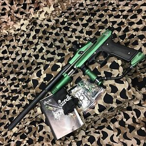 NEW-Azodin-KPC-Pump-Tournament-Paintball-Gun-Marker-Green-Black