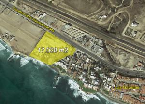 Terreno en Venta con vista al mar en km 41 Rosarito, 17028.0 m2