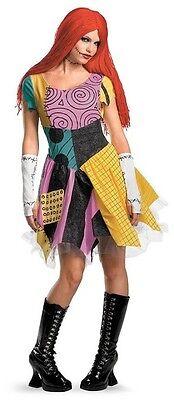 Sally Nightmare Before Christmas Burton Gothic Rag Doll Halloween Adult Costume