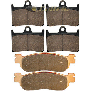 Front Rear Brake Pads YAMAHA YZFR6S YZF-R6S YZF R6S 2006 2007 2008 2009