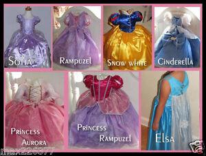 New girl princess inspired dress 1st Birthday Halloween costume Toddler size 2 ⭐
