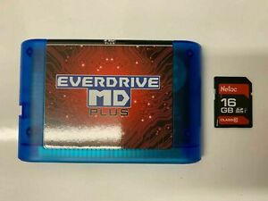 For-Sega-EVER-DRIVE-MD-PLUS-GENESIS-1277-in1-830-447-Game-Cartridge-16G